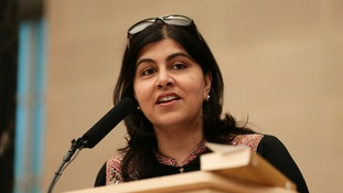 Baroness Warsi has switched sides