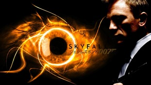 "An official poster for ""Skyfall""."