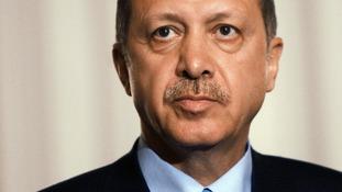 Turkish Prime Minister Tayip Erdogan