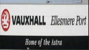 Vauxhall plant at Ellesmere Port