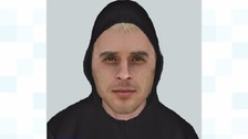 Electronic image of man police want to identify