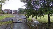 Habergham High School in Burnley
