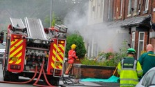 Man injured in gas explosion in Gorton, Manchester