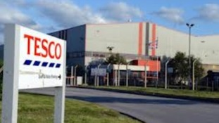 Tesco distribution centre in Doncaster