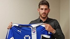 Ched Evans previously played for Manchester City.