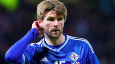 Paddy McCourt missed the Euros to look after his wife Laura.