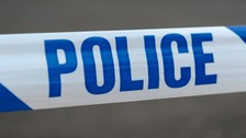 Two men entered a Spar store in Drakes Cross Parade at about 10.45pm