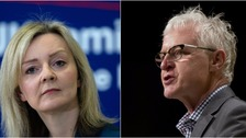 Liz Truss (left) and Norman Lamb (right) were among those touched by the tributes in Parliament.