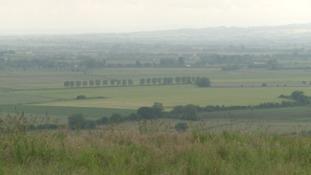 View from Aller Moor