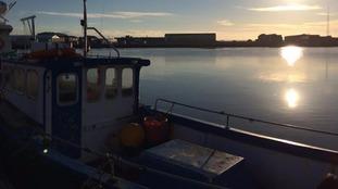 The Brexit flotilla set sail this morning