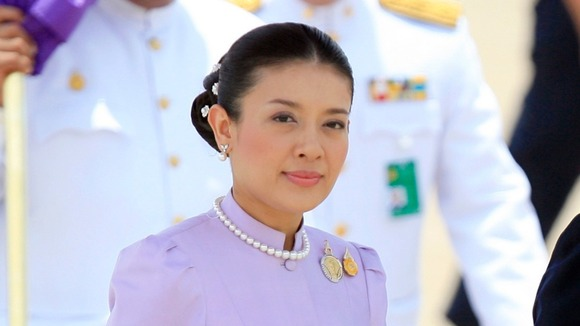 Royal Consort Princess Srirasmi of Thailand, seen here at an event in Bangkok.