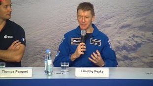 Tim Peake: I would go back to space 'in a heartbeat'