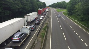 Gridlock on the A1