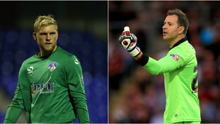 David Cornell (left) has joined Northampton Town, but Ryan Clarke is heading to AFC Wimbledon.