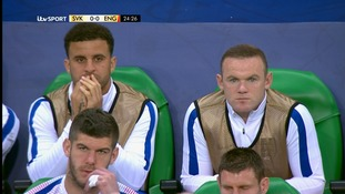 Wayne Rooney did not start the game.