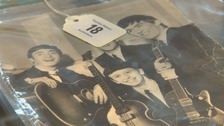 One of the Beatles items up for auction.