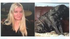 Joanna Eyles and pet dog