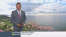 Jon Mitchell has the late weather forecast