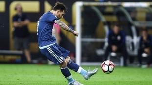 Messi overtook Gabriel Batistuta as Argentina's top scorer