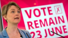 Yvette Cooper encouraged people to 'stop the hatred'