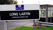 A 59-year-old prisoner died at Long Lartin Prison on Monday