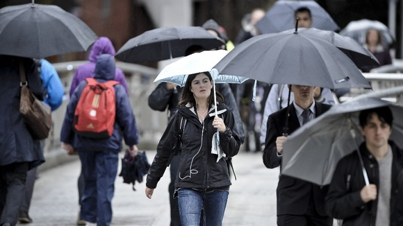 More heavy rain is expected to hit Britain.