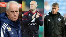 Mick McCarthy (left), Alex Neil (centre) and Grant McCann (right) will be targeting promotion from their respective leagues.