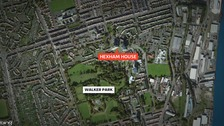 Man falls from Newcastle flat window
