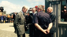 HRH Duke of Kent visits Cumbria