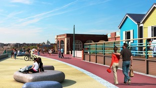 Designs for Dukes Walk on Whitley Bay Promenade