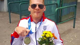 Paralympian Miller wins bronze at European Championships