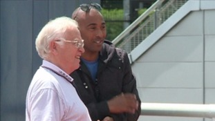 Malcolm Arnold and Colin Jackson