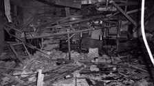 Aftermath of the Birmingham Pub Bombings in 1974