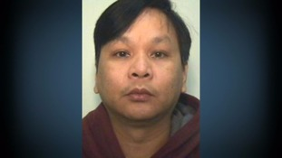 Police mugshot of Stepping Hill nurse Victorino Chua.