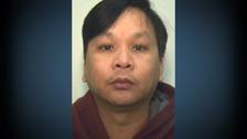 Police mugshot of Stepping Hill nurse Victorino Chua.