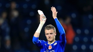 Jamie Vardy extends Leicester City contract