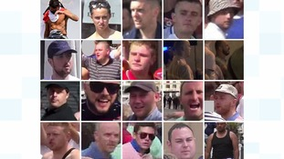 Caught on CCTV: 73 England fans sought after Marseille violence against Russia