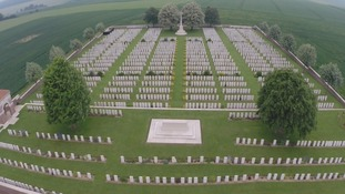 Dantzig Alley Cemetery, the Somme
