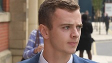 Jack Tuohy, 19, pleaded not guilty at Manchester Minshull Street Crown Court to five offences alleged to have been committed last October.