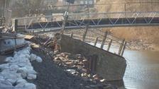 Hawick flood damage