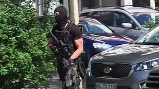 Elite police stormed the cinema and shot dead the attacker