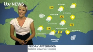 Friday morning weather for the west of the region