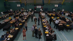 Counting is underway in Chelmsford