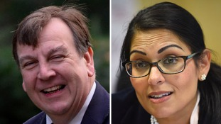 Essex MPs John Whittingdale and Prit Patel