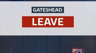 Gateshead leave graphic