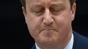 David Cameron's future is no longer in doubt.