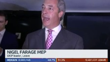 "South East MEP Farage: ""A new dawn is breaking"""