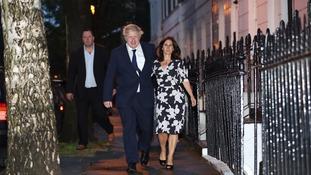 Boris Johnson and his wife Marina