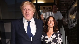 Boris Johnson and his wife Marina