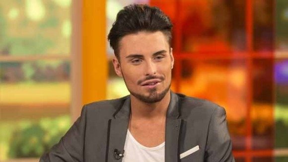 X Factor&#x27;s Rylan Clark.